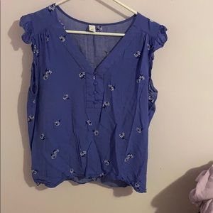 Old navy tank blouse
